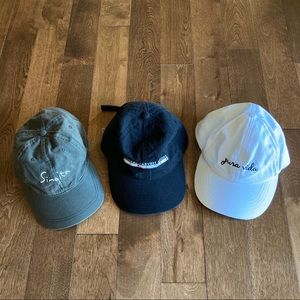 Bundle 3 Baseball Hats